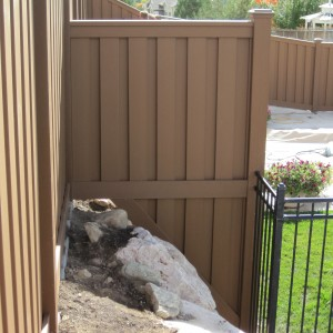 Trex Seclusions Privacy Fence Saddl