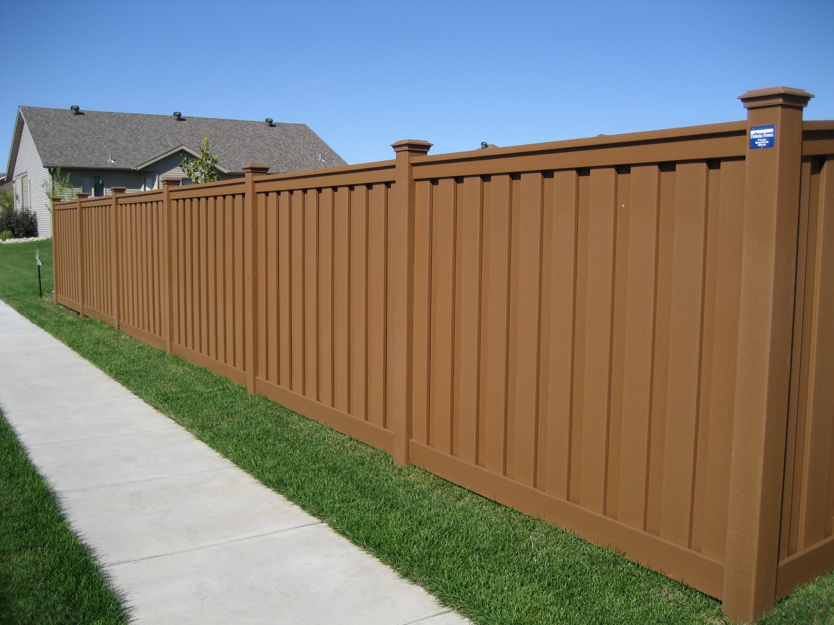 Trex Seclusions Privacy Fence Saddle Trex Fencing The