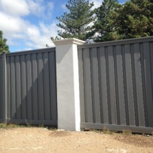 Texas - Wood Alternative Fence - Winchester Grey