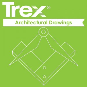 Trex composite fence architectural drawings