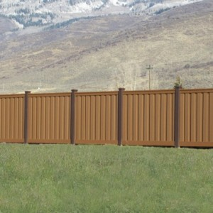 Plastic Fence Alternative