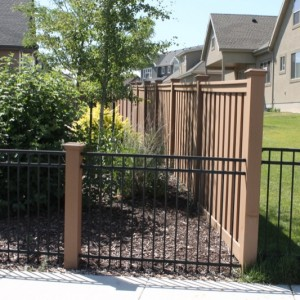 Trex Seclusions Composite Privacy Fencing