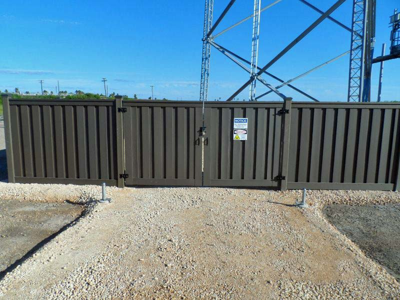 Commercial And Government Projects Trex Fencing The