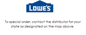 Trex Fencing Available through Lowe's