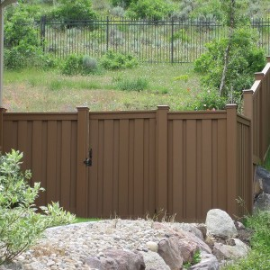 Trex Seclusions Fencing - Saddle
