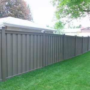 Trex Composite Fencing - Winchester Grey