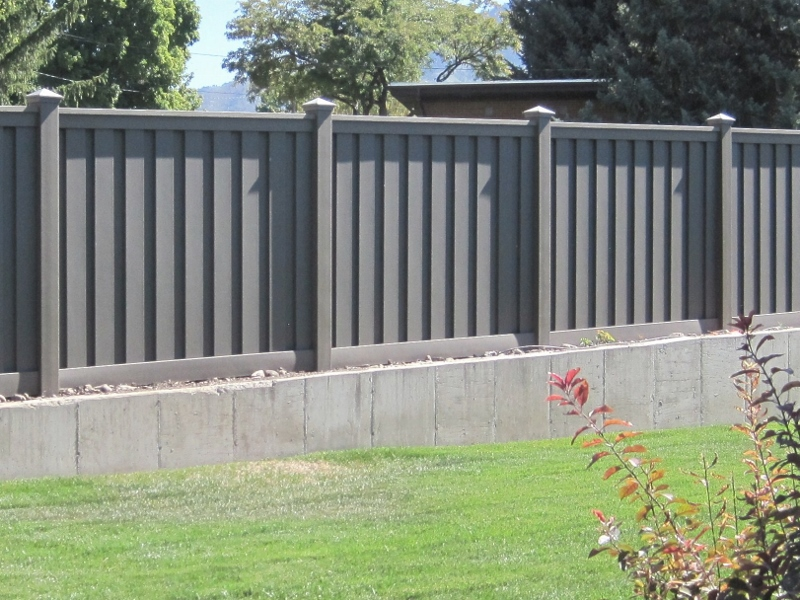 Installation Trex Fencing The Composite Alternative To