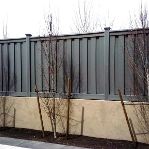 Trex Vinyl Fencing Alternative - Winchester Grey