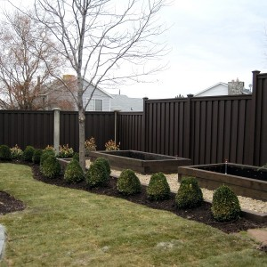 Trex Composite Fencing - Woodland Brown