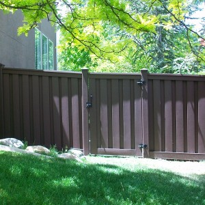 Trex Seclusions Fencing - Woodland Brown