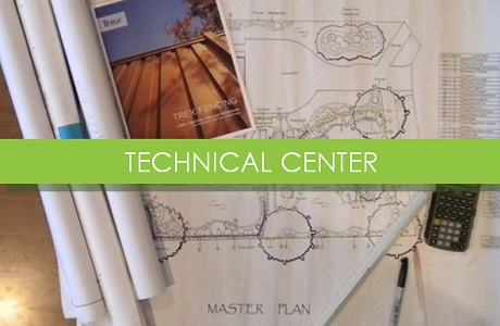 Visit our technical center for detailed resources on  Trex composite fence panels
