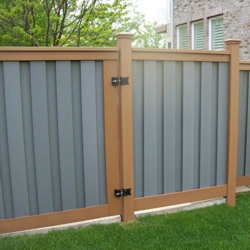 Trex composite fence panels come in a variety of rich