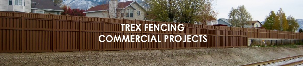Trex Fencing for Commercial and Government Projects