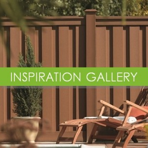 Ideas for fencing using composite fence panels  available at the Trex inspiration gallery