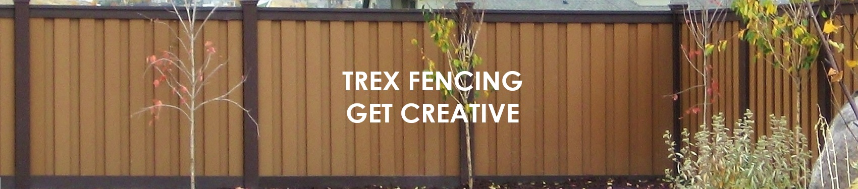 Creative Uses of Trex Wood Alternative Fencing
