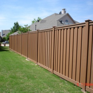 Trex Seclusions Privacy Fence Saddle