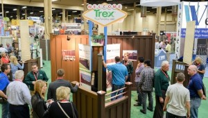 Trex Fencing Booth at FenceTech 2014 in Las Vegas, NV