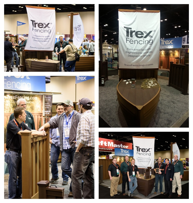 Trex Fencing Award for Most Creative Booth at Fencetech 2015