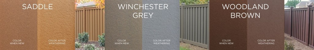 Trex Fencing Color Swatches