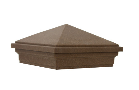 Pyramid cap for Trex fence post
