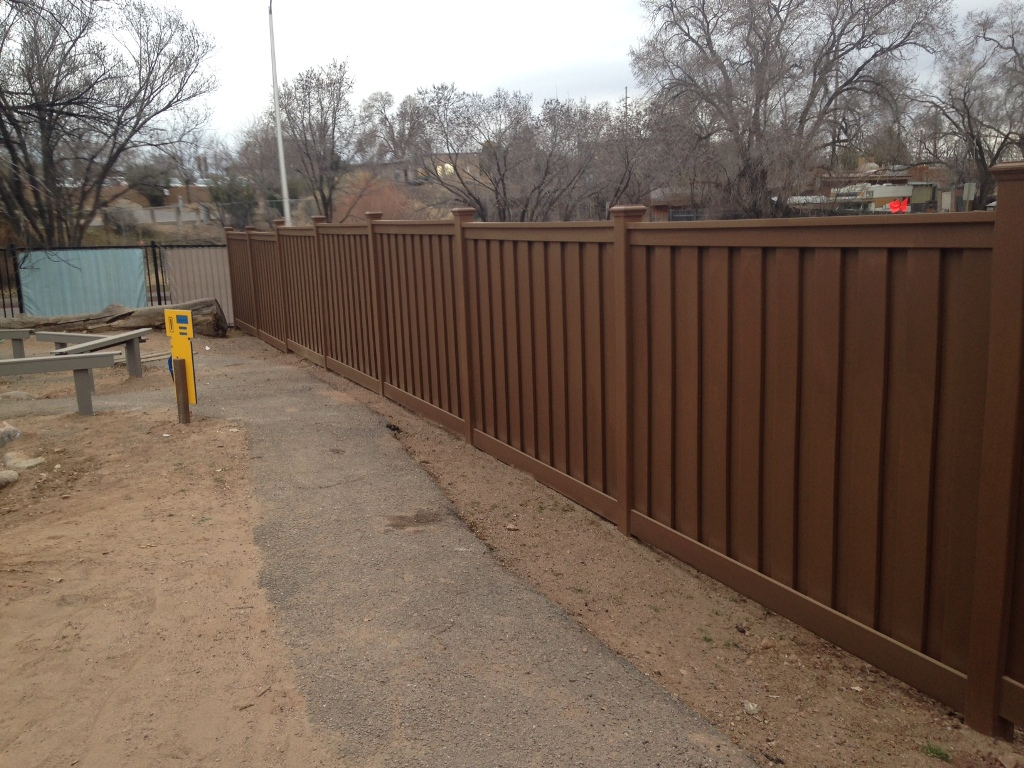 Privacy Fencing for School Playground