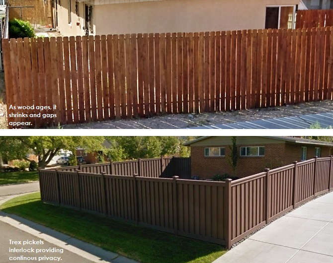 Wood Fencing Archives Trex Fencing The Composite