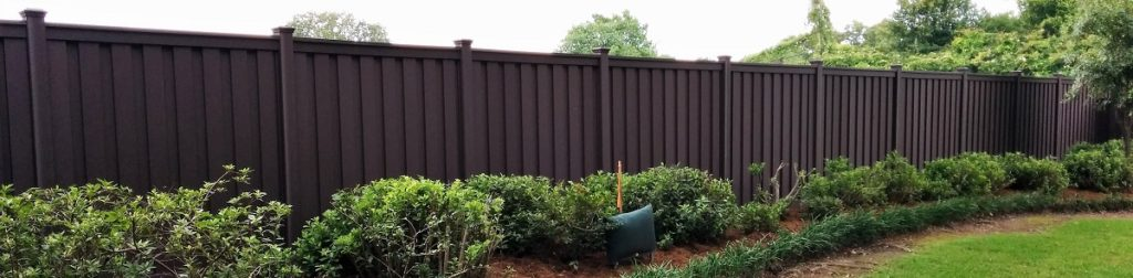 Trex Fencing Installed In Lafayette Louisiana