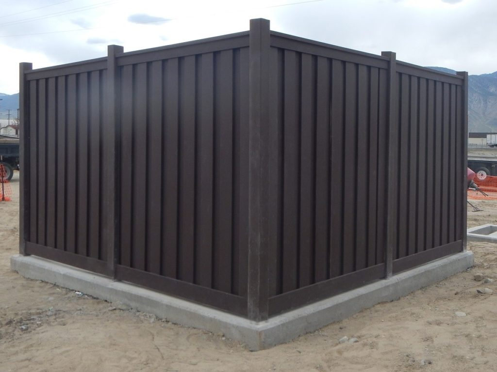 Security and privacy fencing for charging station