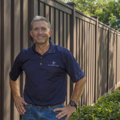 Hans Weber, Owner of AAA Quality Fence, Lafayette, Louisiana