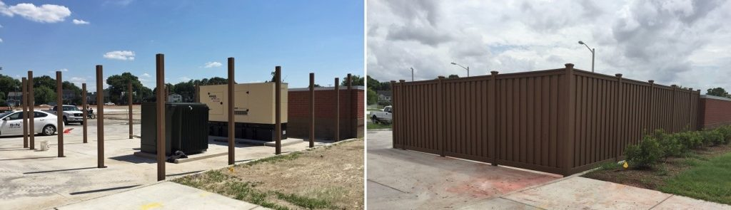 Fence Installation for Broad Creek Elementary School, Norfolk, VA
