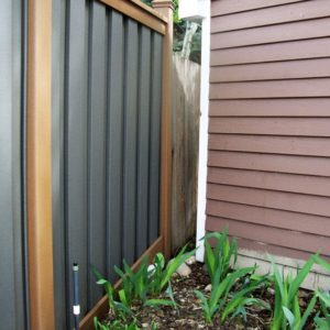 Color Combination Trex Fence