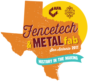 Logo for Fencetech 2017, San Antonio TX