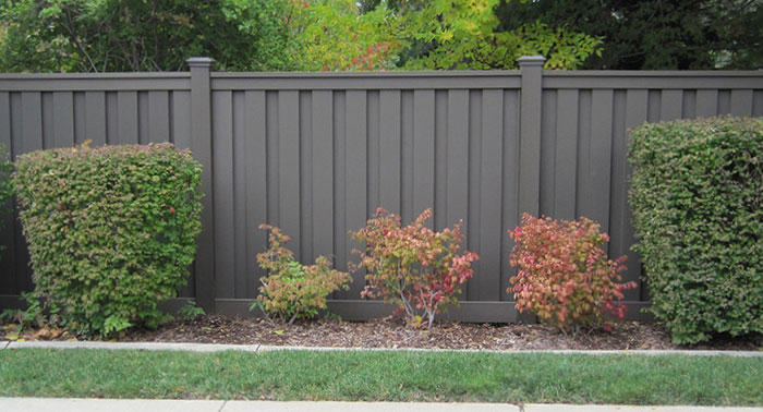 Seclusions Trex Fencing The Composite Alternative To