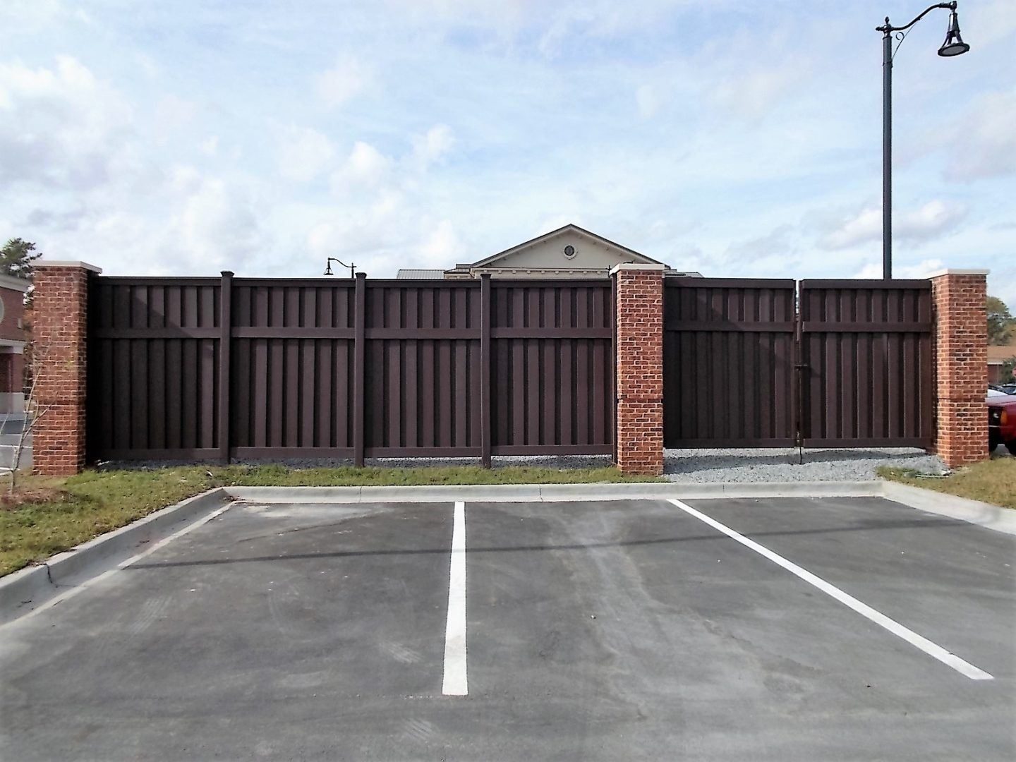 Tall Commercial Fencing for Government Facility