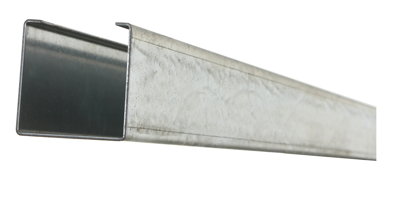 Galvanized Steel Post Insert for Trex Gates