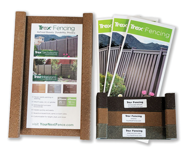 Order Sample Trex Fencing The Composite Alternative To